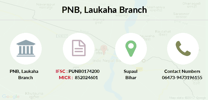 Punjab-national-bank Laukaha branch