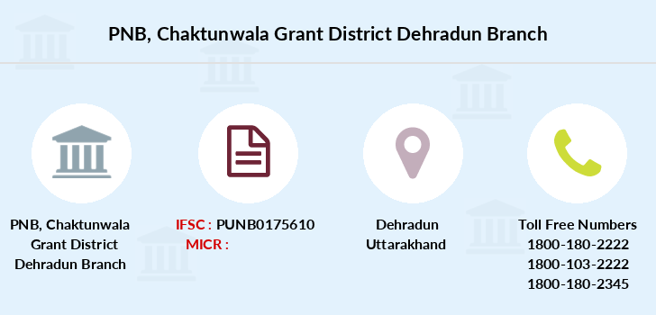Punjab-national-bank Chaktunwala-grant-district-dehradun branch