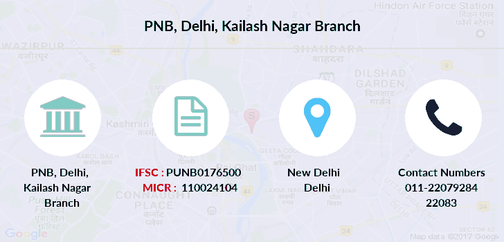 Punjab-national-bank Delhi-kailash-nagar branch