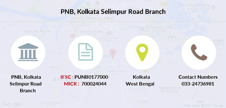 Punjab-national-bank Kolkata-selimpur-road branch