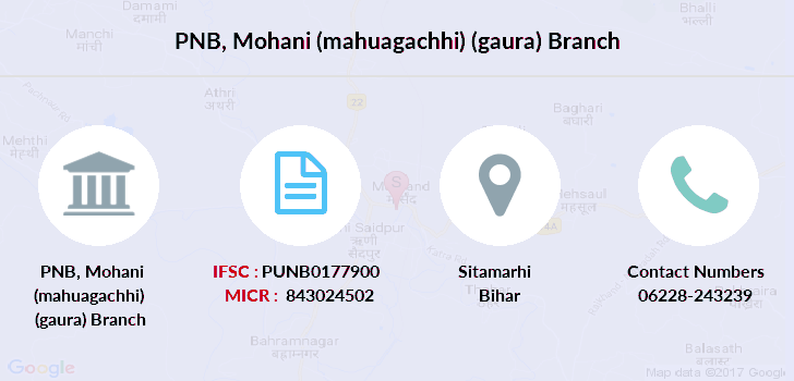 Punjab-national-bank Mohani-mahuagachhi-gaura branch