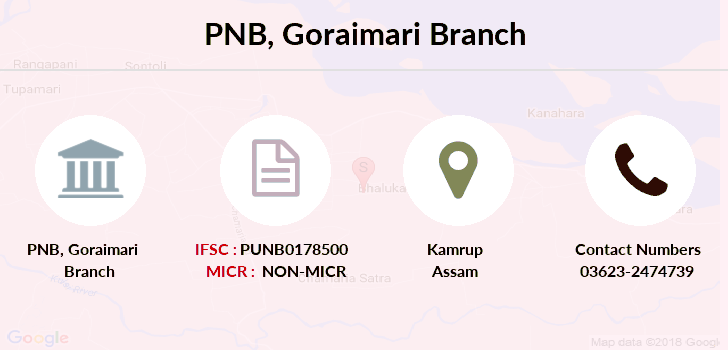 Punjab-national-bank Goraimari branch