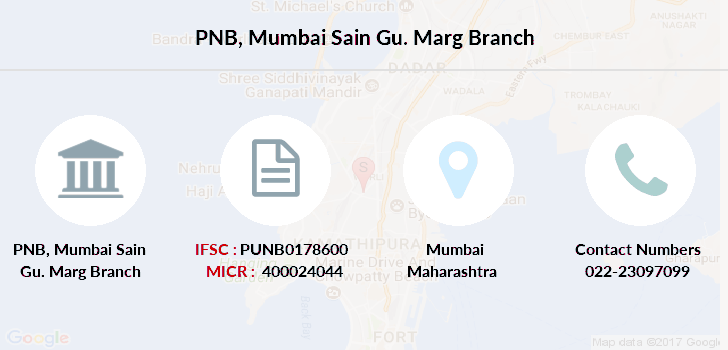 Punjab-national-bank Mumbai-sain-gu-marg branch