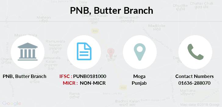 Punjab-national-bank Butter branch