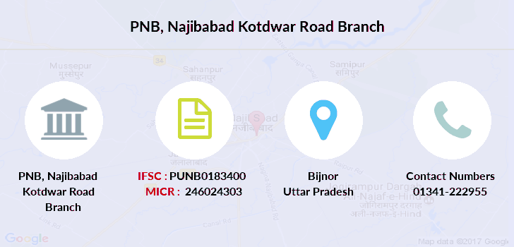 Punjab-national-bank Najibabad-kotdwar-road branch