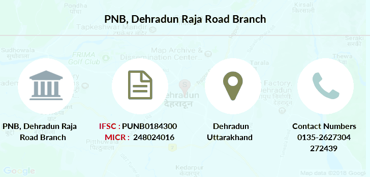 Punjab-national-bank Dehradun-raja-road branch
