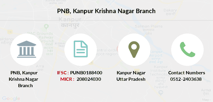 Punjab-national-bank Kanpur-krishna-nagar branch