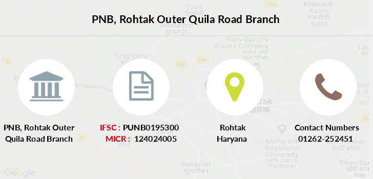 Punjab-national-bank Rohtak-outer-quila-road branch
