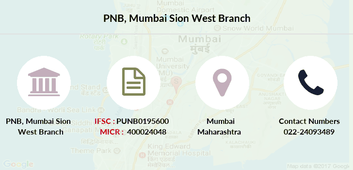 Punjab-national-bank Mumbai-sion-west branch