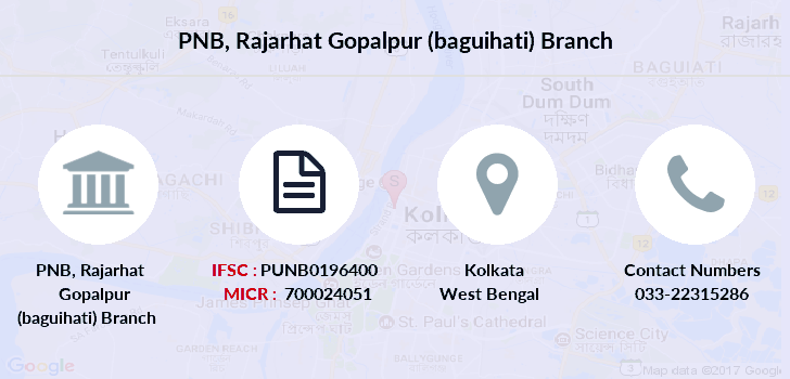 Punjab-national-bank Rajarhat-gopalpur-baguihati branch