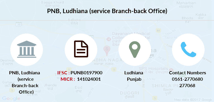 Punjab-national-bank Ludhiana-service-branch-back-office branch