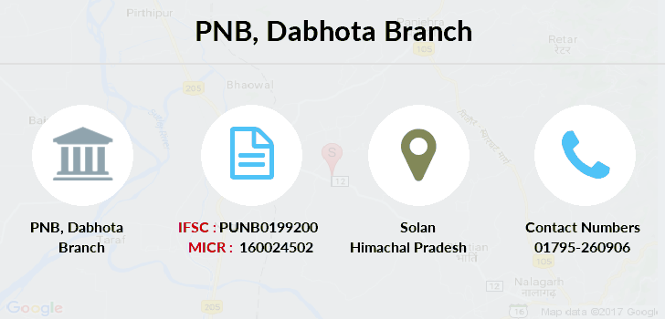 Punjab-national-bank Dabhota branch