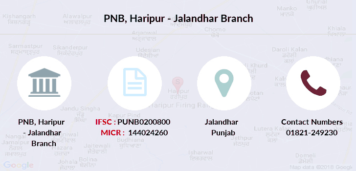 Punjab-national-bank Haripur-jalandhar branch