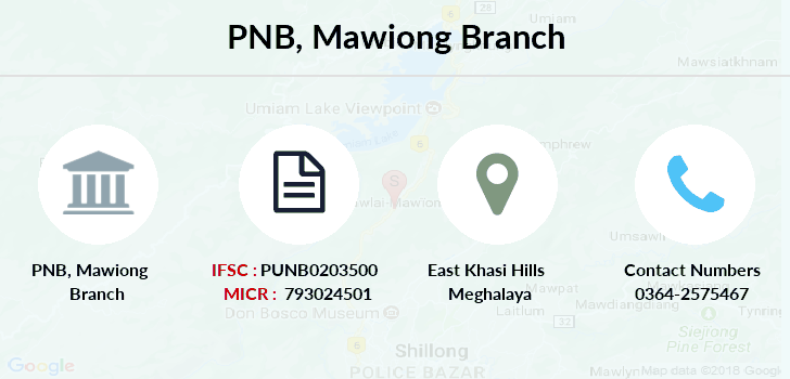 Punjab-national-bank Mawiong branch