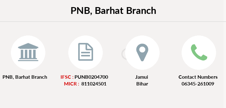 Punjab-national-bank Barhat branch