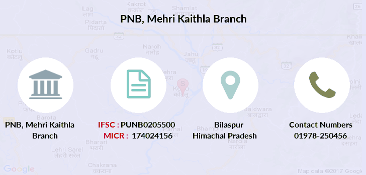 Punjab-national-bank Mehri-kaithla branch