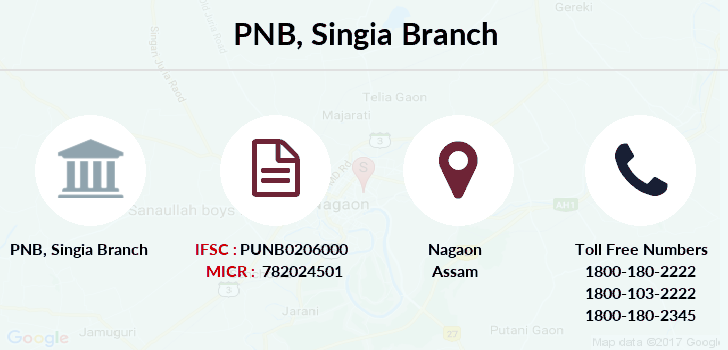 Punjab-national-bank Singia branch
