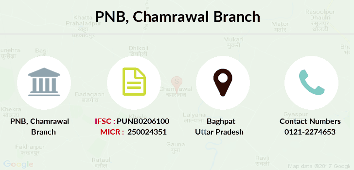 Punjab-national-bank Chamrawal branch