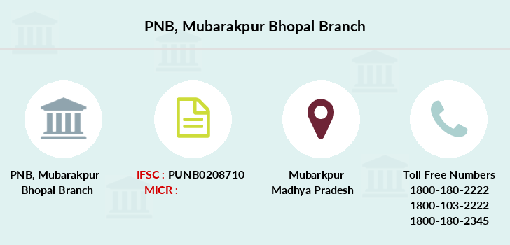 Punjab-national-bank Mubarakpur-bhopal branch