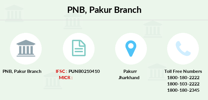 Punjab-national-bank Pakur branch