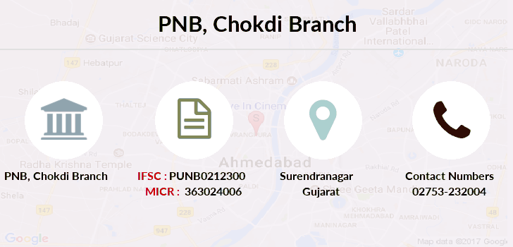 Punjab-national-bank Chokdi branch