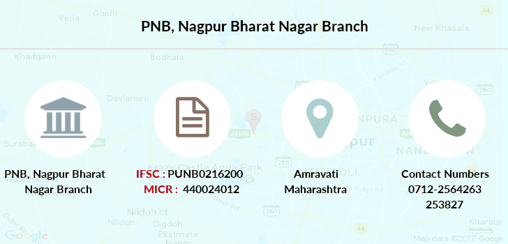 Punjab-national-bank Nagpur-bharat-nagar branch