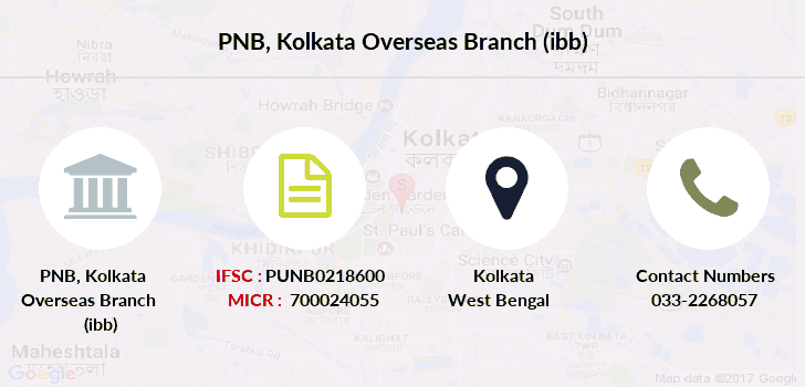 Punjab-national-bank Kolkata-overseas-branch-ibb branch