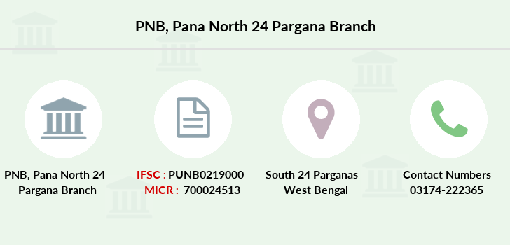 Punjab-national-bank Pana-north-24-pargana branch