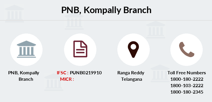 Punjab-national-bank Kompally branch