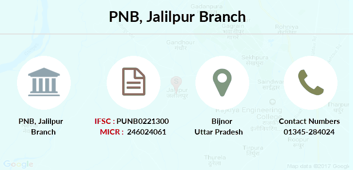 Punjab-national-bank Jalilpur branch