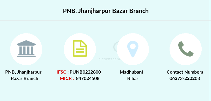 Punjab-national-bank Jhanjharpur-bazar branch