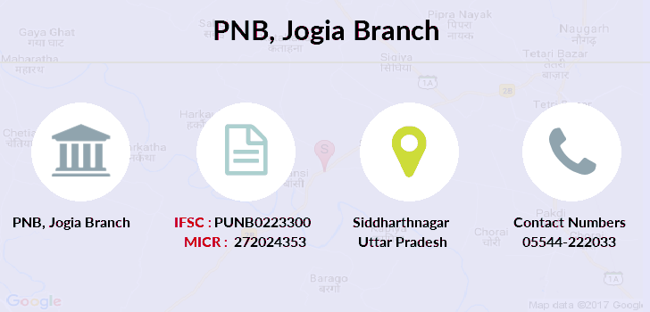 Punjab-national-bank Jogia branch