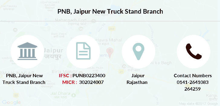 Punjab-national-bank Jaipur-new-truck-stand branch