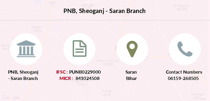 punjab national bank ifsc code bihar saran