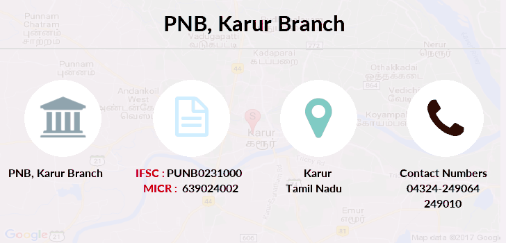 Punjab-national-bank Karur branch