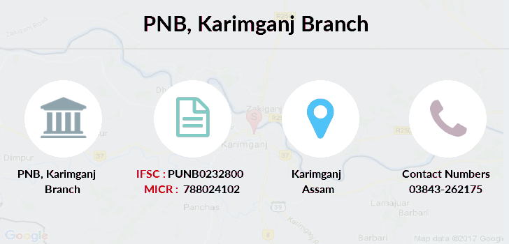Punjab-national-bank Karimganj branch