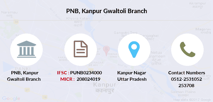 Punjab-national-bank Kanpur-gwaltoli branch
