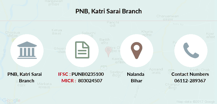 Punjab-national-bank Katri-sarai branch