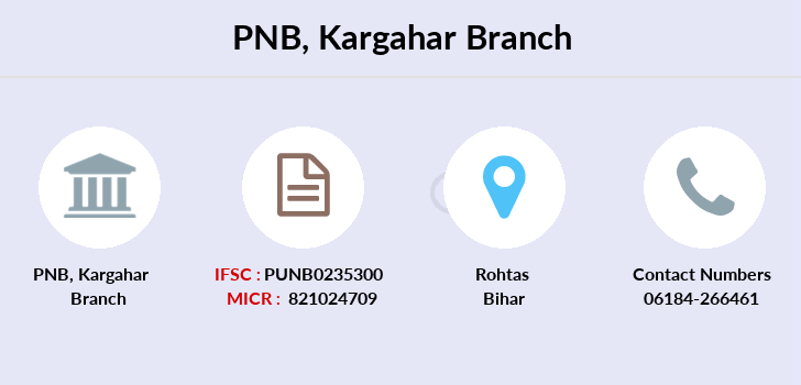 Punjab-national-bank Kargahar branch