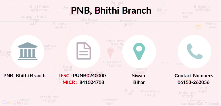 Punjab-national-bank Bhithi branch