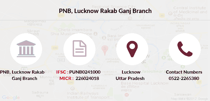 Punjab-national-bank Lucknow-rakab-ganj branch