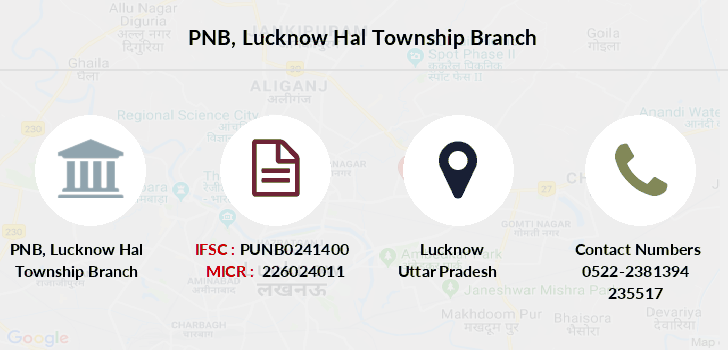Punjab-national-bank Lucknow-hal-township branch