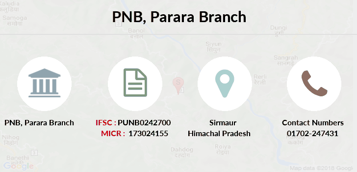 Punjab-national-bank Parara branch