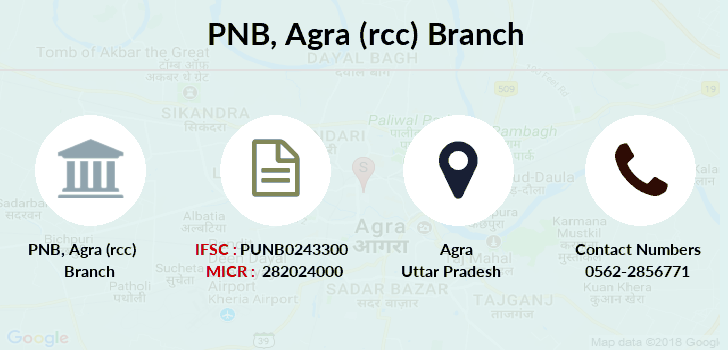 Punjab-national-bank Agra-rcc branch