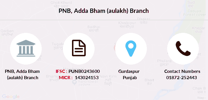Punjab-national-bank Adda-bham-aulakh branch