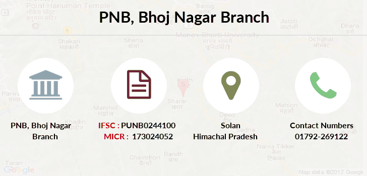 Punjab-national-bank Bhoj-nagar branch