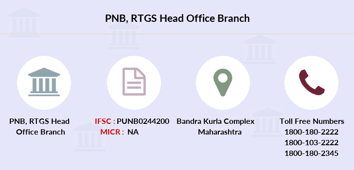 Punjab-national-bank Rtgs-head-office branch