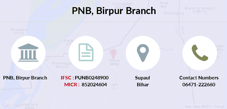 Punjab-national-bank Birpur branch