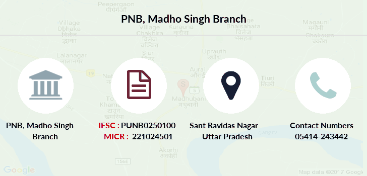 Punjab-national-bank Madho-singh branch