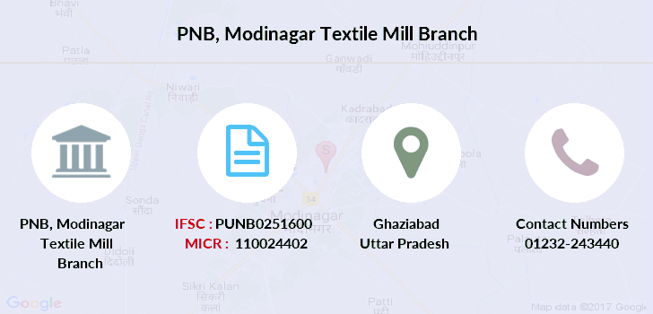 Punjab-national-bank Modinagar-textile-mill branch